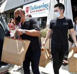 Meals & Dignity For People in OC Affected by COVID-19
