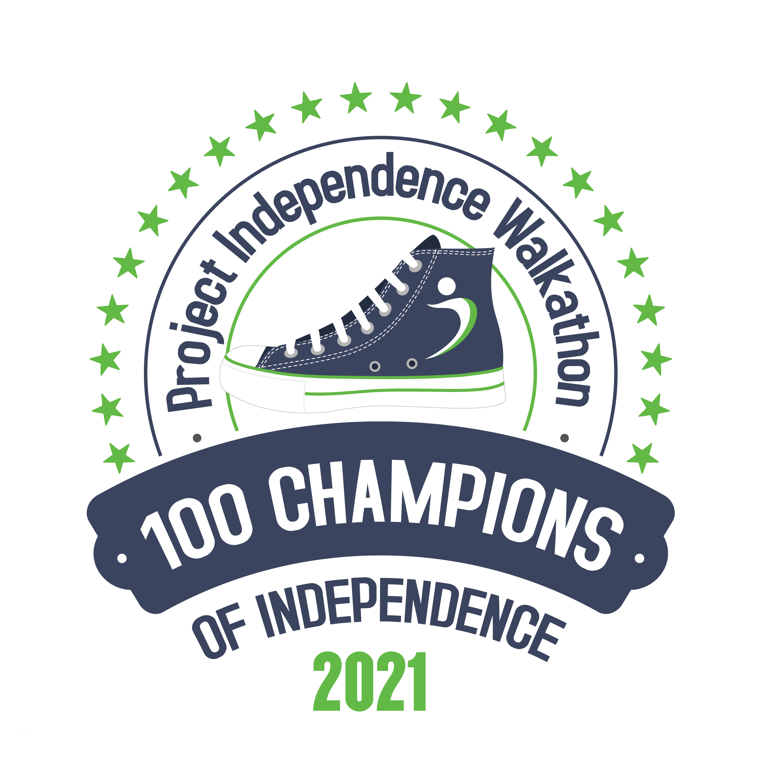 Project Independence Walkathon - 100 Champions of Independence 2021